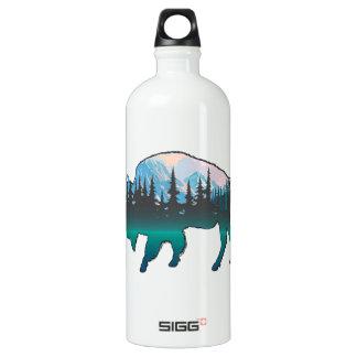 Garrafa D'água De Alumínio Yellowstone vagueando