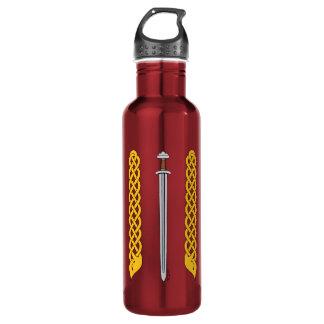 Garrafa D'água Espada e Plaitwork de Viking