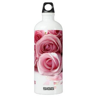 Garrafa D'água Flor do rosa cor-de-rosa