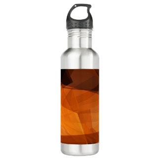 Garrafa D'água Fundo abstrato da laranja para o design como o
