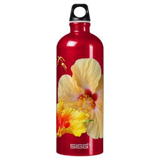 Garrafa D'água HIBISCUS do ☼, flor do ☼ da paixão