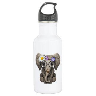 Garrafa D'água Hippie bonito do elefante do bebê