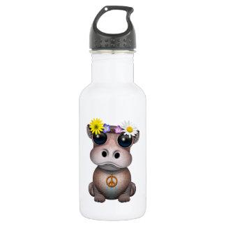 Garrafa D'água Hippie bonito do hipopótamo do bebê