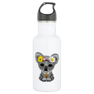 Garrafa D'água Hippie bonito do Koala do bebê
