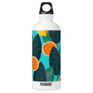 Garrafa D'água limões e cerceta das laranjas