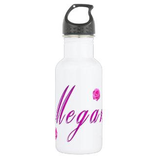 Garrafa D'água Logotipo do nome da menina de Megan,