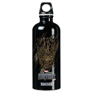 Garrafa D'água Marcas da garra da pantera preta | Erik Killmonger