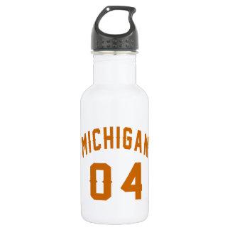 Garrafa D'água Michigan 04 designs do aniversário
