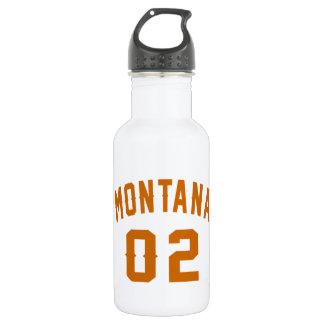 Garrafa D'água Montana 02 designs do aniversário