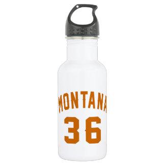 Garrafa D'água Montana 36 designs do aniversário