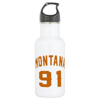 Garrafa D'água Montana 91 designs do aniversário