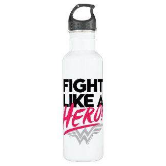 Garrafa D'água Mulher maravilha - luta como um herói