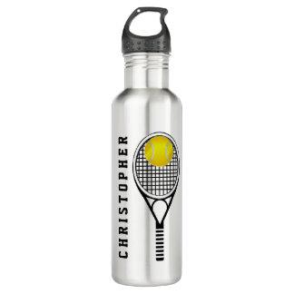 Garrafa D'água Nome ou monograma personalizado tênis