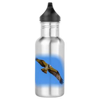 Garrafa D'água Osprey do vôo com um alvo na vista