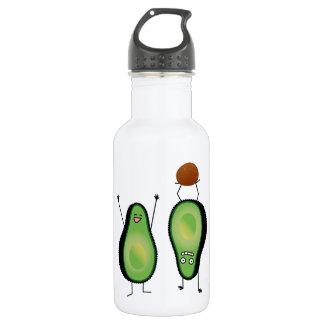 Garrafa D'água Poço engraçado do verde do handstand dos aplausos