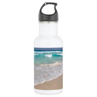 Garrafa D'água Praia e Sandy Beach tropicais