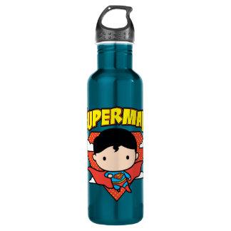 Garrafa D'água Protetor e nome das bolinhas do superman de Chibi