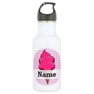 Garrafa D'água Rosa bonito sorvete personalizado para meninas