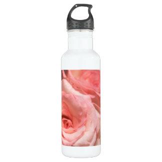 Garrafa D'água Rosas cor-de-rosa