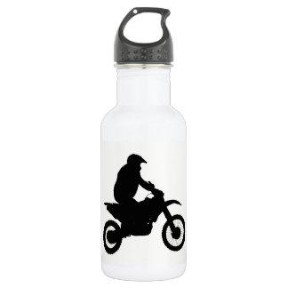 Garrafa D'água Silhueta do motocross