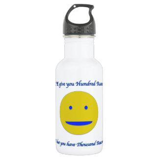 Garrafa D'água Sorriso à vida