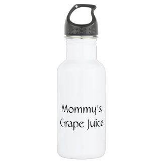 Garrafa D'água Suco de uva da mamã