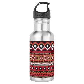 Garrafa D'água Teste padrão do asteca do navajo do sudoeste
