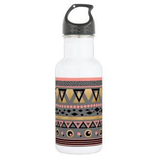 Garrafa D'água teste padrão geométrico asteca tribal moderno da