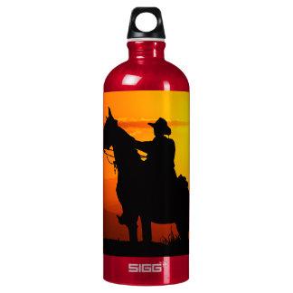 Garrafa D'água Vaqueiro-Vaqueiro-luz do sol-ocidental-país do por