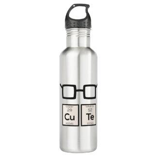 Garrafa D'água Vidros bonitos Zwp34 do nerd do elemento químico