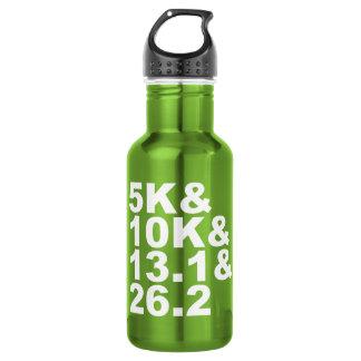 Garrafa De Aço Inoxidável 5K&10K&13.1&26.2 (branco)