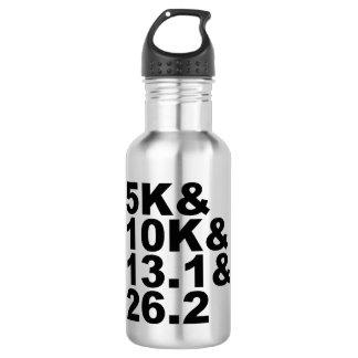 Garrafa De Aço Inoxidável 5K&10K&13.1&26.2 (preto)