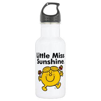 Garrafa De Aço Inoxidável A senhorita pequena pequena Luz do sol da