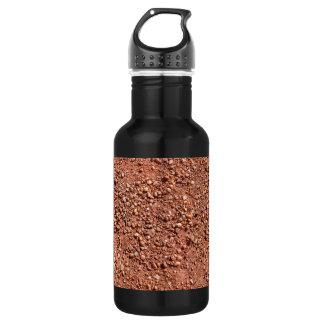 Garrafa De Aço Inoxidável Areia e seixos vermelhos do ocre