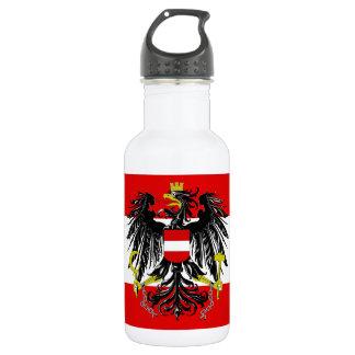 Garrafa De Aço Inoxidável Bandeira austríaca