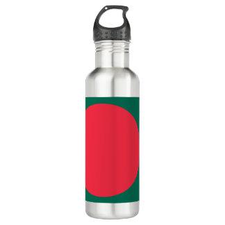 Garrafa De Aço Inoxidável Bandeira de Bangladesh