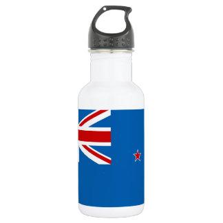 Garrafa De Aço Inoxidável Bandeira de Nova Zelândia