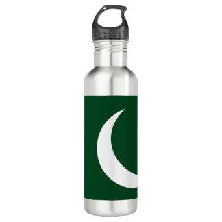 Garrafa De Aço Inoxidável Bandeira de Paquistão