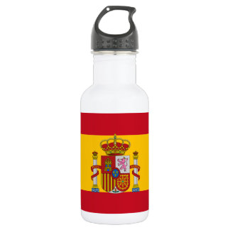 Garrafa De Aço Inoxidável Bandeira espanhola