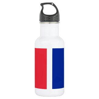 Garrafa De Aço Inoxidável Bandeira nacional de France