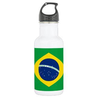 Garrafa De Aço Inoxidável Bandeira nacional do mundo de Brasil