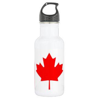 Garrafa De Aço Inoxidável Bandeira nacional do mundo de Canadá