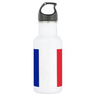 Garrafa De Aço Inoxidável Bandeira nacional do mundo de France