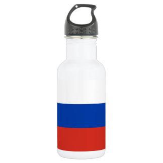 Garrafa De Aço Inoxidável Bandeira nacional do mundo de Rússia