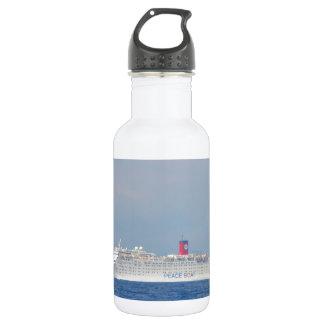 Garrafa De Aço Inoxidável Barco da paz