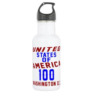 Garrafa De Aço Inoxidável C.C. de Washington dos Estados Unidos da América