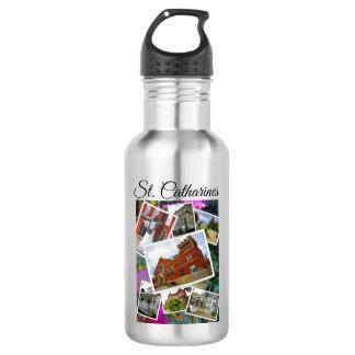 Garrafa De Aço Inoxidável Colagem da foto do St. Catharines