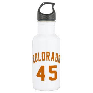 Garrafa De Aço Inoxidável Colorado 45 designs do aniversário