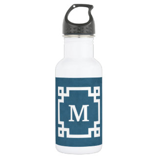 Garrafa De Aço Inoxidável Design do monograma