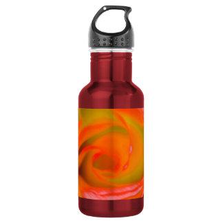 Garrafa De Aço Inoxidável Fim-acima cor-de-rosa da laranja